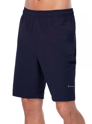 Free Country Men's Tech Stretch Short - Navy - S