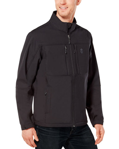 Free Country Men's Ultimate Super Softshell® Jacket - Black - S