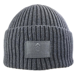 Free Country Men's Wide Cuff Knit Shoreman Beanie - Grey - O/S