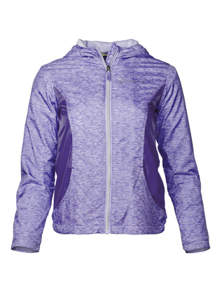 Free Country Toddler Girls' Dash Windshear Jacket - Pale Iris - 2T