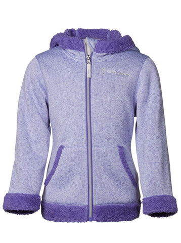 Toddler Girls' Revelry Mountain Fleece Jacket in Ultra Violet