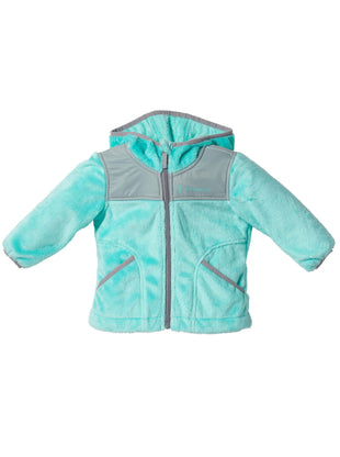 Free Country Toddler Girls' Signature Butter Pile Fleece Jacket - Spearmint - 2T