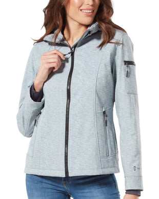 Free Country Women's Aeon Super Softshell® Jacket - Cool Silver - S
