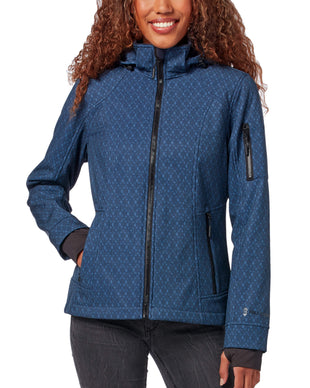 Free Country Women's Aeon Super Softshell® Jacket - Navy - S