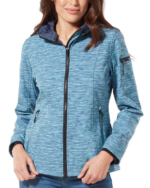 Free Country Women's Aeon Super Softshell® Jacket - Water Splash - S