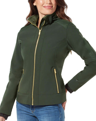 Free Country Women's Aerolith Super Softshell® Jacket - Olive - S