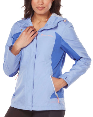 Free Country Women's Aleutian Athletx Windbreaker Jacket - Pale Iris - S