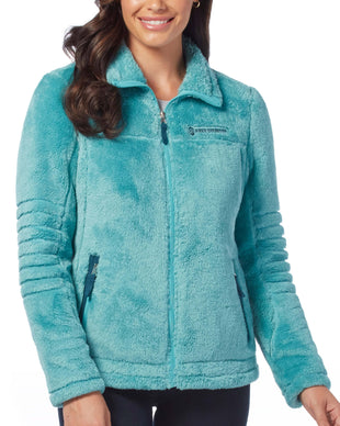 Free Country Women's Alpine Butter Pile Jacket - Jade Mist - S