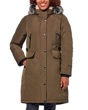 Free Country Women's Arctic Down Parka Jacket - Olive - S
