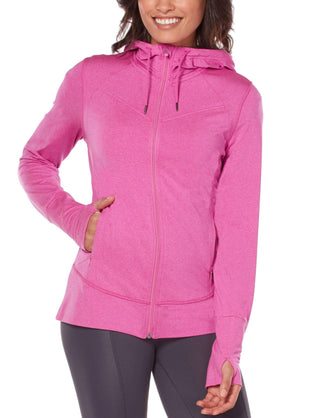 Free Country Women's B Comfortable Hoodie - Berry - S