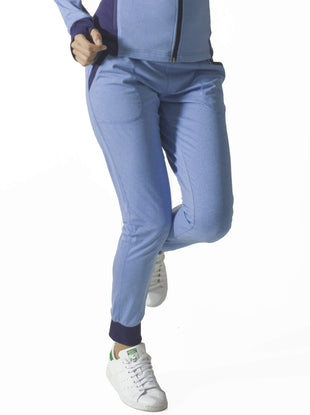 Free Country Women's B Comfortable Jogger Pant - Blue Glacier - S