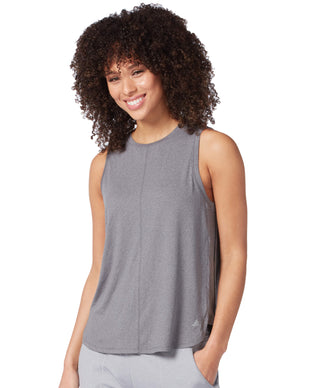Free Country Women's Microtech Chill B Cool Tank Top - Charcoal - S
