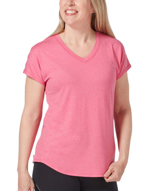 Free Country Women's Microtech Chill B Cool Tee - Hot Pink - S
