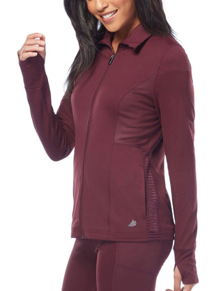 Free Country Women's B Outside the Line Jacket - Oxblood - S