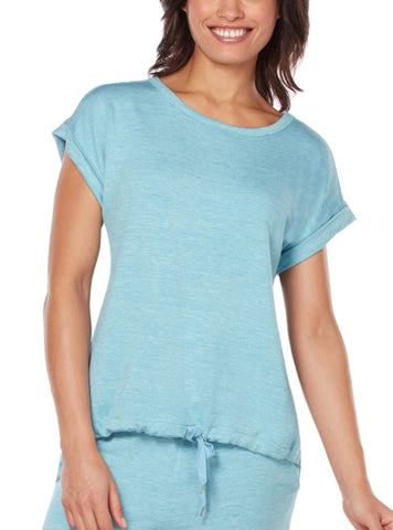 Free Country Women's B Relaxed Tee - Rich Water - S