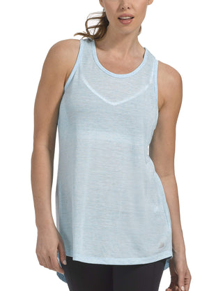 Free Country Women's B Tied Up Tank - Ice Turq - S