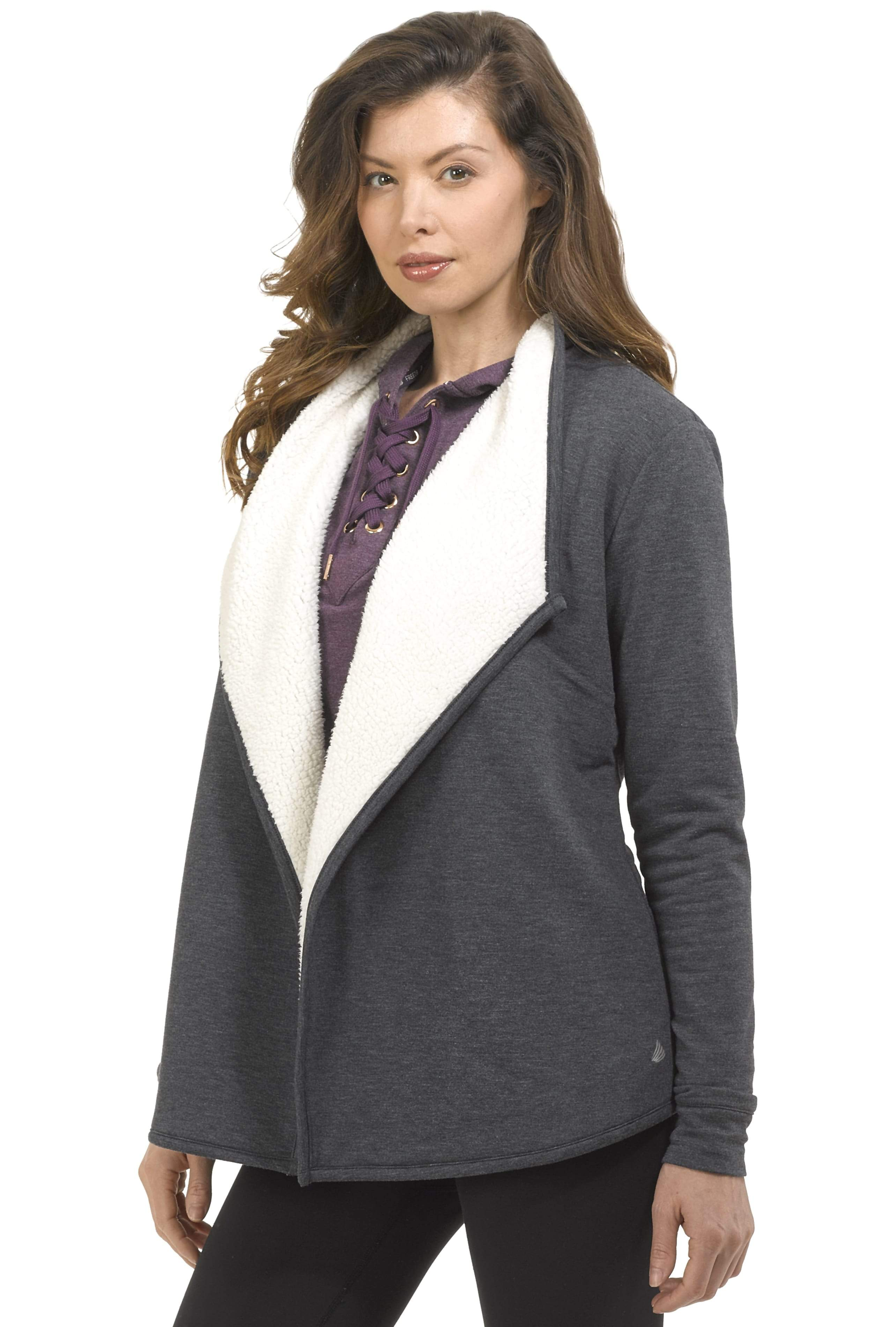 Free Country Women's B Wrapped Up Luxe Fleece Jacket 54511363591