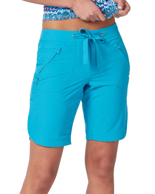 Free Country Women's Bermuda Board Short II - Ocean Turq - S