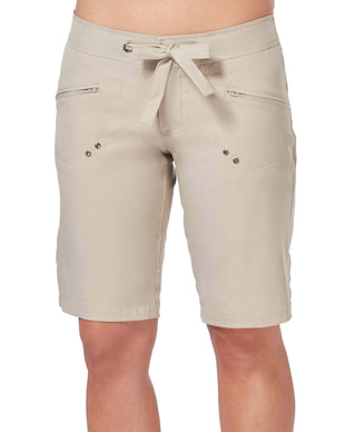 Free Country Women's Bermuda Board Short - Khaki - XS