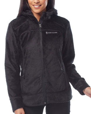 Free Country Women's Bloom Butter Pile Jacket - Black - S