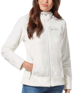 Free Country Women's Bloom Butter Pile Jacket - White - S