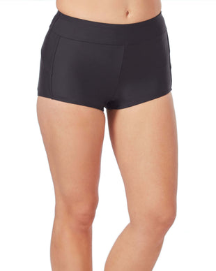 Free Country Women's Boy Short - Black - S