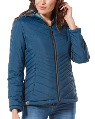 Free Country Women's Caliber Midweight Reversible Jacket - Navy - S