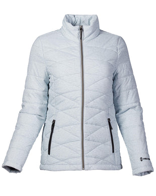Free Country Women's FreeCycle™ Cire Midweight Jacket - Silver Chip - S