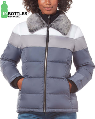 Free Country Women's FreeCycle™ Cirrus Cloud Lite Jacket - Charcoal - S