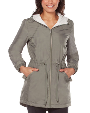 Free Country Women's Composure Long Windshear Jacket - Sage City - S