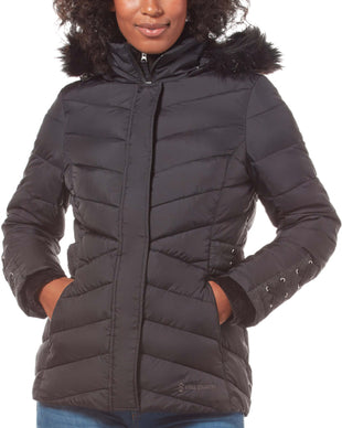 Free Country Women's FreeCycle™ Cumulus Cloud Lite Jacket - Black - S