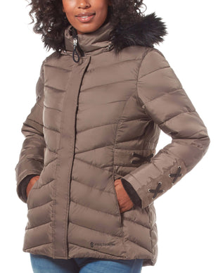 Free Country Women's FreeCycle™ Cumulus Cloud Lite Jacket - Fossil - S