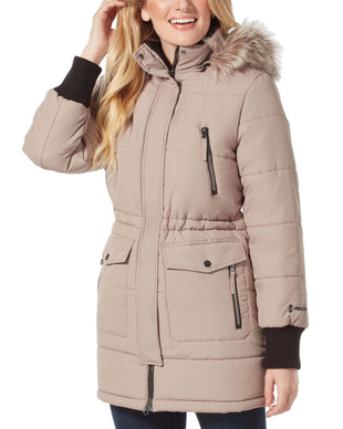 Free Country Women's Diamond Glade II Parka Jacket - Cobblestone - S