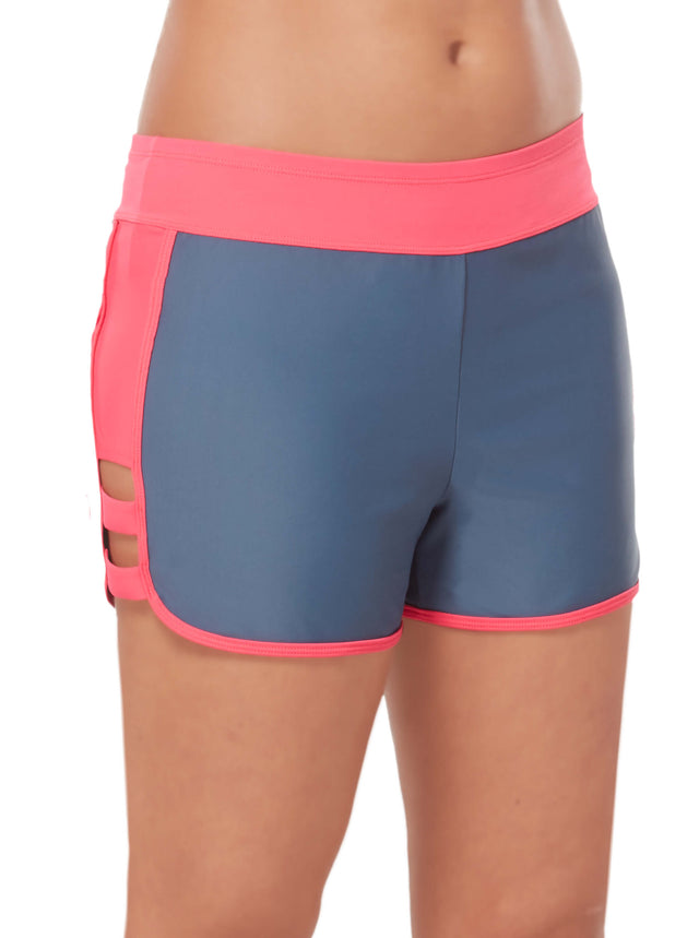 b9ce2aaf31 Women's Double Strap Swim Short – Free Country