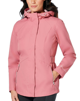 Free Country Women's Drizzle Radiance Anorak Jacket - Mauve - S
