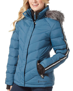 Free Country Women's Exhilarate Jacket - Agate Blue - S