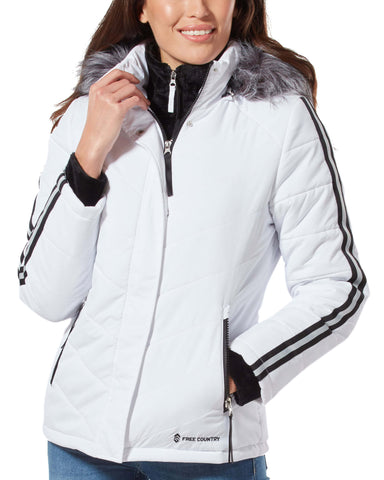 Free Country Women's Exhilarate Jacket - White - S