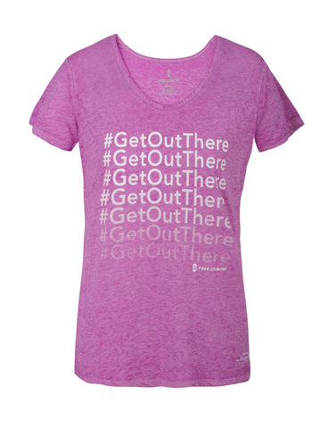 Women's Fresh Air Fund #GetOutThere Tee