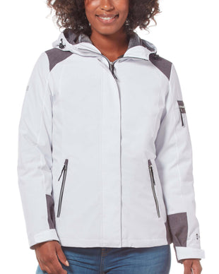 Free Country Women's Fearless 3-in-1 Systems Jacket - White - S