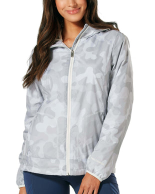 Free Country Women's Fervent Windshear Jacket - Shell Grey Camo - S