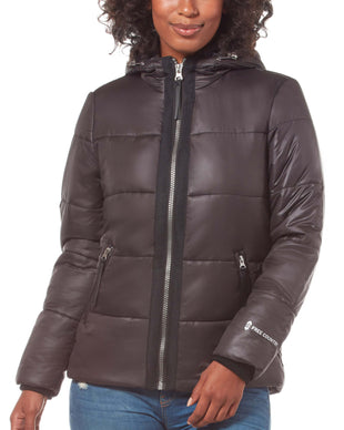 Free Country Women's Form Midweight Puffer Jacket - Black - S