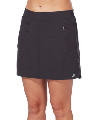 Free Country Women's Free 2 Explore Skort - Black - S