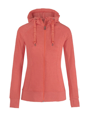 Free Country Women's Free 2 Hang Out Hoodie - Coral Dream - S