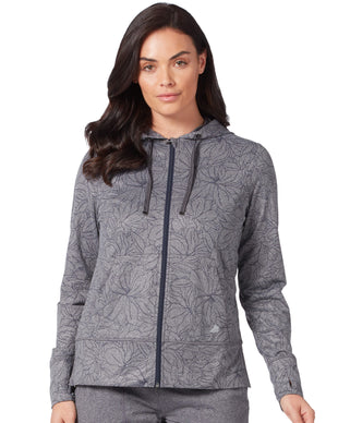 Free Country Women's Free2B B Cozy Zip Jacket - Botanical Charcoal - S