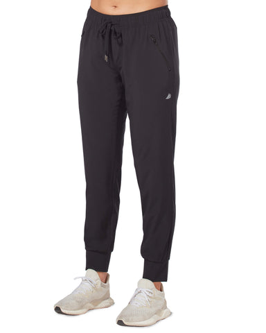 Free Country Women's Free2B Explorer Jogger - Black - S