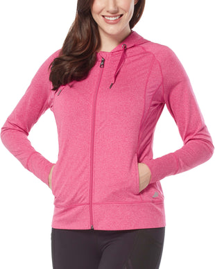 Free Country Women's Free2B Heathered Brushed Signature Jacket - Magenta - S