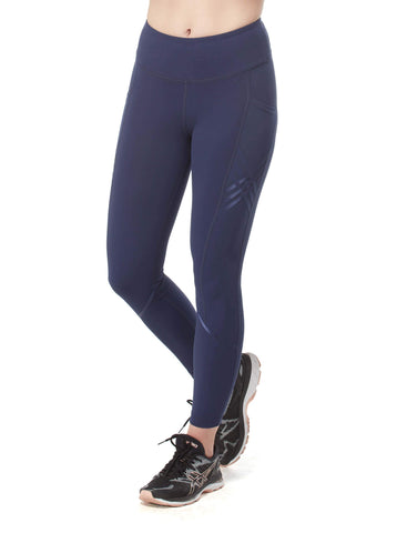 Free Country Women's Free2B Lattice Ankle Tight - Navy - S