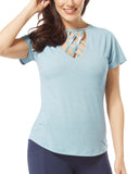 Women's Free2B Lattice Top