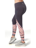 Women's Free2B Sheer Floral Ankle Tight