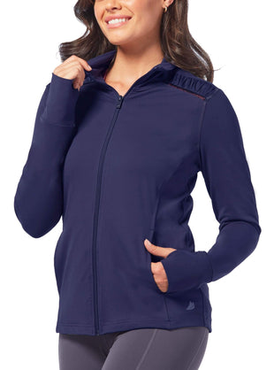 Free Country Women's Free2B Shirred Jacket - Navy - S